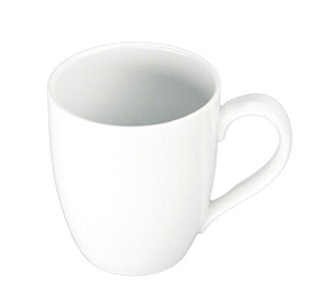 Bia Cordon Bleu Inc Bia Cordon Bleu Inc 903109 16 Oz White Porcelain Bistro Mug, White