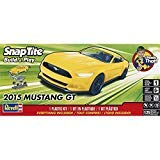 (Revell Inc. 851697 1/25 2015 Mustang GT Yellow, 851697)