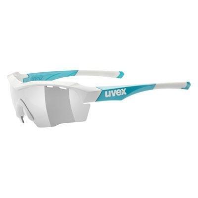 Uvex Uvex SGL 104 - Sportbrille / Radbrille m. Wechselscheiben white blue - Laufsport Zubeh?r