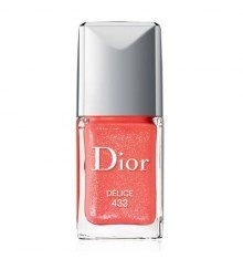 Christian Dior Vernis Sparkling Color Extreme Wear Nail Polish Lacquer for Women, 433 Delice, 0.33 Ounce