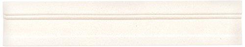 Dal-Tile L340212CR1U Limestone Tile BLAVET Blanc HONED x 4-1/4