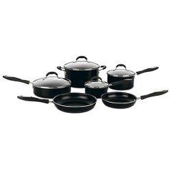 Cuisinart 56-10BK 10-Piece Aluminum Nonstick Cookware Set