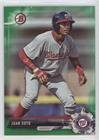 Juan Soto #97/99 (Baseball Card) 2017 Bowman Draft - [Base] - Green #BD-162