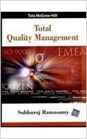Total Quality Management Book By Subburaj Ramasamy Pdf Download
