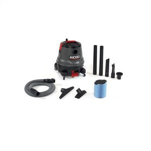 Ridgid 50333 Motor on Bottom Wet/Dry Vacuum, 12 gallon, Red