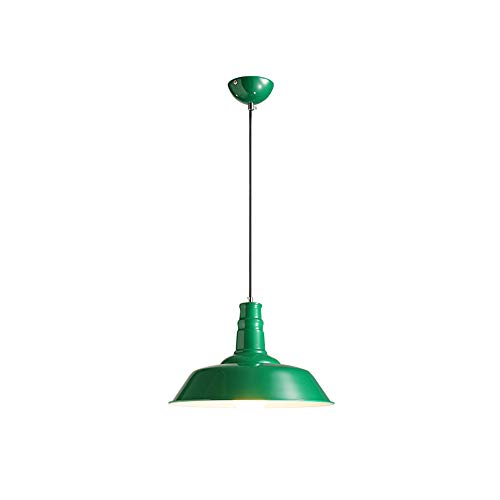 Dark Green Pendant Light in US - 7