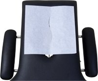 """Chiropractic Headrest Sheets - 12"""" x 24"""" - 1000/Case from Avalon Papers"""