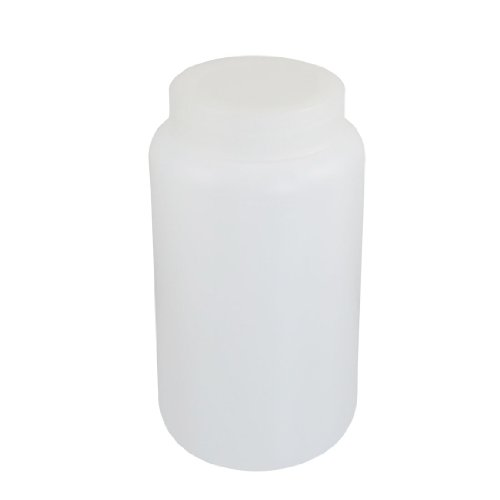 uxcell 2500ml White Plastic Graduated Lab Chemical Capacity Storage Bottle (Chemical Container compare prices)