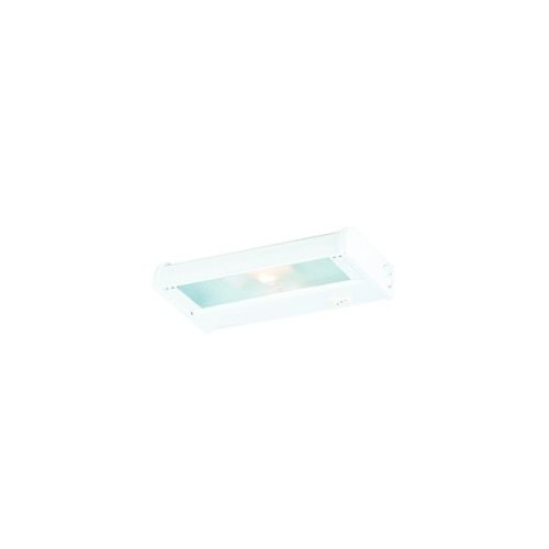 CSL Lighting NCA-120-8BZ Counter Attack 8IN Undercabinet Fixture, Bronze Finish with Prismatic Glass Diffuser North Coast Lighting
