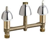 Chicago Faucets 786-LESHAB Concealed Hot and Cold Water Sink Faucet Quaturn Compression Operating Cartridge