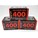 JCH Street Pan ISO 400 Black & White Film 36 Exposure Roll StreetPan 3 Rolls by JCH