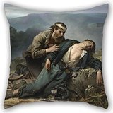 (Artistdecor Oil Painting Constant Mayer - Recognition- North And South Throw Pillow Case 18 X 18 Inches / 45 By 45 Cm Best Choice For Bedroom,dance Room,couch,car,home,dining Room With Double Sides)