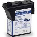 Pitney Bowes mailstation2 Red Ink Cartridge 797-M Compatible