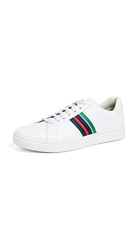 PS by Paul Smith Men's Lapin Sneakers, White, 10 M UK ()