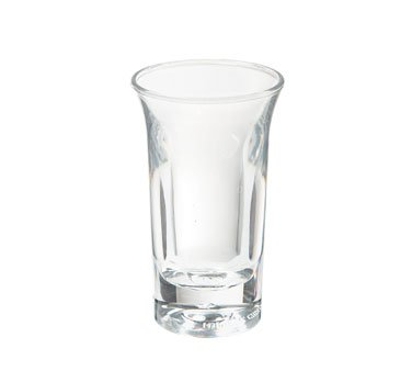 - G.E.T. Specialty Drinkware Clear SAN Plastic 1 Oz Shooter
