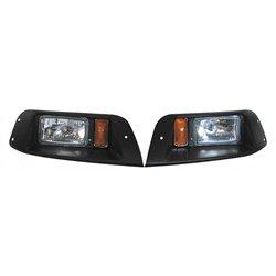 Adjustable Headlights for EZGO TXT Golf Cart 1996 & Up