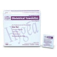 PDI Healthcare D74800 Hygea Obstetrical Towelette, 7.75'' x 5'' Size (Pack of 1000)