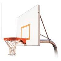 最初チームRuffneck playground-extスチールで地面固定高さバスケットボールsystem44 ;スカーレット B01HC0CJC2