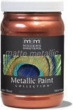 Mm195-06 6oz Copper Matte Metallic Paint Collection