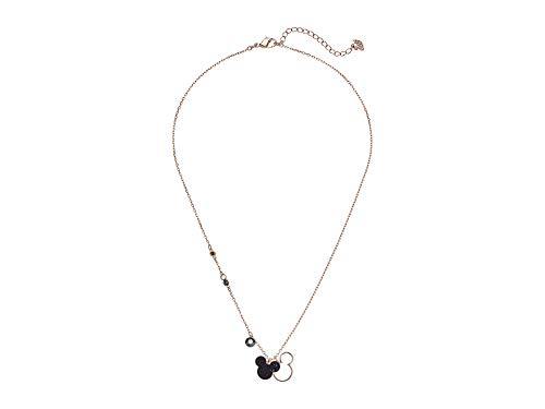 (Swarovski MICKEY & MINNIE PENDANT, MULTI-COLORED, ROSE GOLD PLATING 5429081)