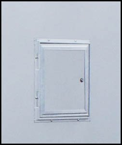 Triton 09037-WH White Gas Door