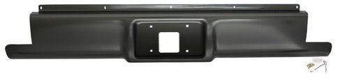 IPCW CWRS-88S Chevrolet Pickup Steel Stepside Roll Pan with License Plate Hole and Light