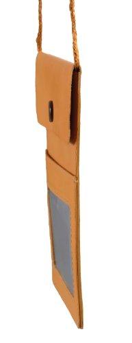 Borsa a tracolla grande LOUANA, Vera Pelle, naturale 15x12cm