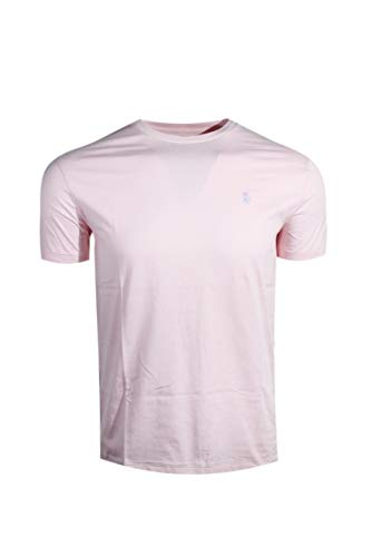 Polo Ralph Lauren Mens Crew-Neck T-Shirt (Large, Pink (Lavender Pony)) ()