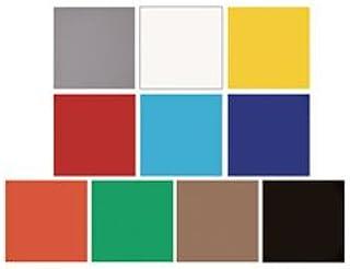Nasco Premium Construction Paper - 50 24' x 36' Sheets 65 lb. - 10 Colors - Arts & Crafts Materials - 9733646