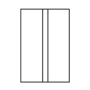 Double Postage Meter Tape 4 x 6 Compare to Pitney Bowes Compare to 612-0, 612-7, 612-9 & 620-9 by OfficeSmartLabels