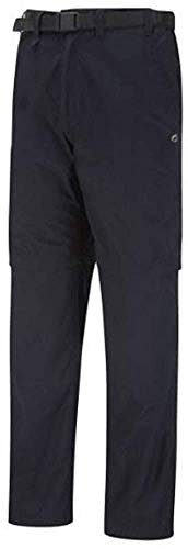 Craghoppers Men's Kiwi Convertible Trouser, Black