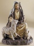 7.5 Inch the Good Shepherd Figurine By Josephs Studio 27014