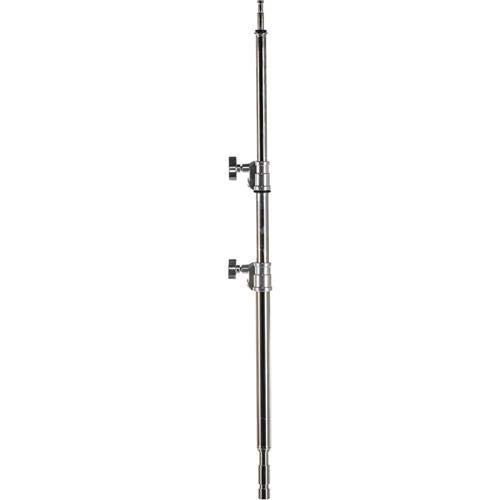 Avenger High 4.5' C-Stand Column 14 with Double Riser, 3 Sections, Chrome Steel -