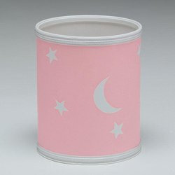 Redmon For Kids Stars And Moons Wastebasket