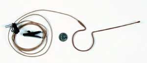 Electro-Voice RE97TX-BEIGE Head-Mic for wireless TA4F, Beige