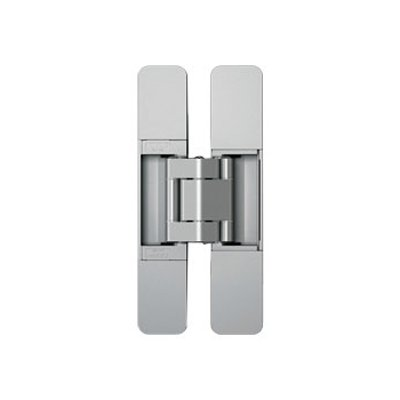 Sugatsune 3 Way Adjustable Hinge-Matte Silver