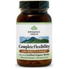 Органические Индия Полная гибкость Вегетарианская капсулы - 90 в упаковке - 2 упаковок в случае.