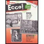 Ecco Due - Workbook - 09 edition With CD (Ecco! Italiano, 2)