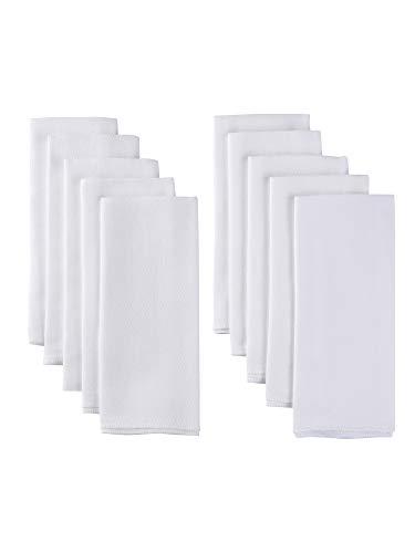 - Gerber 10 Pack Organic Prefold Birdseye Diaper with Pad