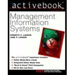Management Information Systems Activebook, Laudon, Kenneth C. and Laudon, Jane P., 0130663557