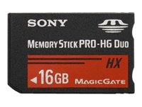 Sony PRO-HG Duo HX 16 GB Memory Stick MSHX16G (Black) by Sony