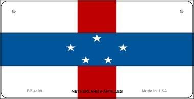 Antilles Netherlands Note (Bargain World Netherlands-Antilles Flag Novelty Bicycle Plate (Sticky Notes))
