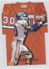 1996 Pinnacle Football (Terrell Davis (Football Card) 1996 Pinnacle - Die-Cut Jerseys #9)