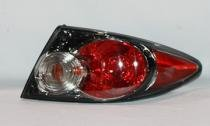 Go-Parts » OE Replacement for 2006-2008 Mazda 6 Mazda6 Rear Tail Light Lamp Assembly (Sport Type + Without Turbo + Factory Installed + Hatchback + Sedan) - Right (Passenger) GP7B-51-150 M ()
