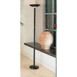 Amazoncom black halogen floor lamp 180 watts black for Halogen floor lamp amazon