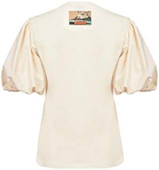 1B14GK.5071 Z99 Black Limousine Pinko Pinko BLACK Women's Jersey -  White -  M
