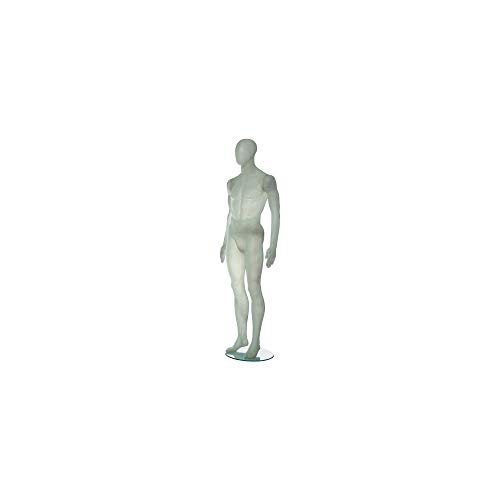 Econoco ROM1MFW Translucent Fiberglass Male With Oval Head