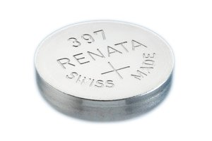 Renata 397 SR726SW SR59 V397 D397 GP397 SB-AL 280-28 Silver Oxide Mercury Free Electronic Batteries x 5 ()