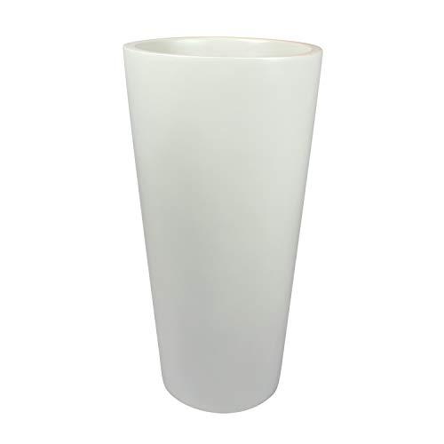 Dublin Tall Round Cylinder Fiberglass Planter (D:13