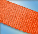 The Furniture Cove Twin Size Attached Bed Slats - Bunkie Boards (Neon Orange Straps)